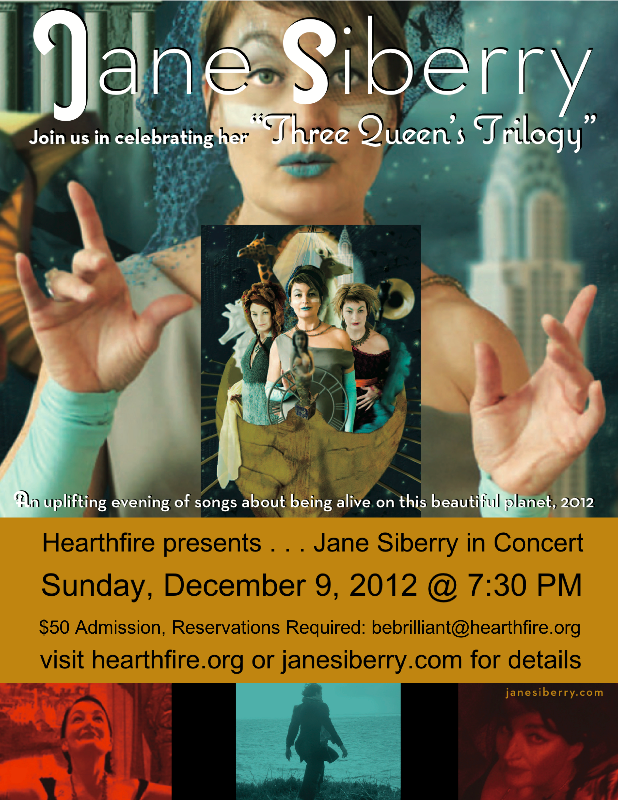 Hearthfire Presents Jane Siberry in Concert